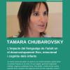 Tamara Chubarovsky a Vilassar, el vídeo