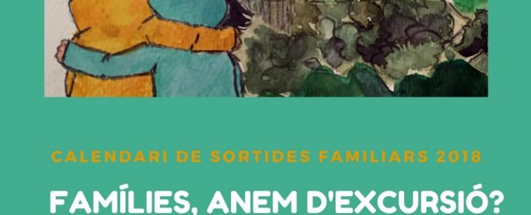 EXCURSIONS EN FAMÍLIA, CALENDARI 2018