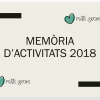 MEMÒRIA D'ACTIVITATS 2018