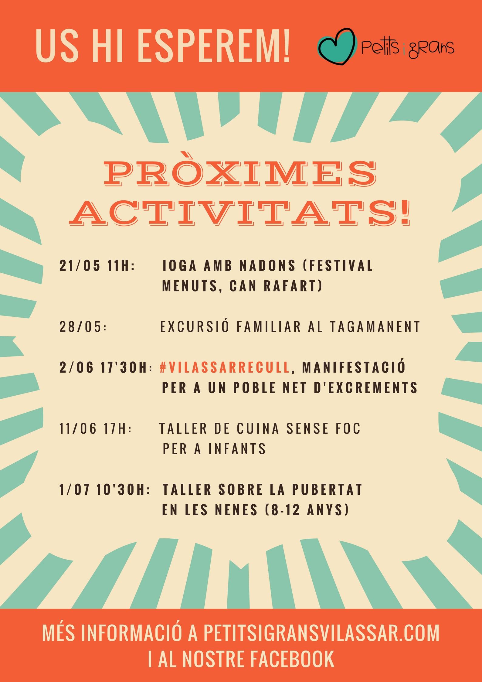 PROPERES ACTIVITATS! (7)