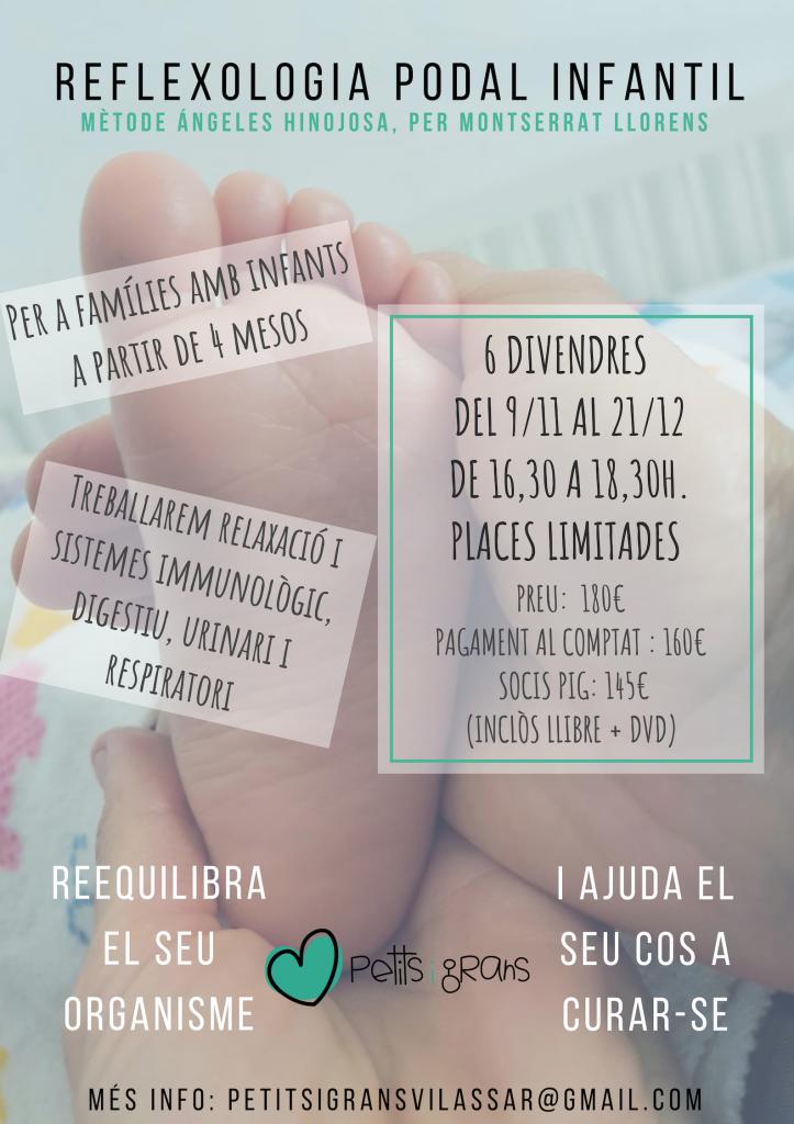 TALLER REFLEXOLOGIA PODAL INFANTIL @ Local de Petits i Grans | Dosrius | Catalunya | España